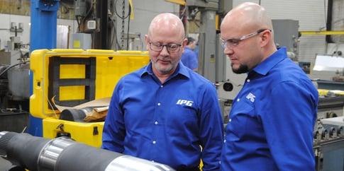 Modern Machine Shop Visits IPG